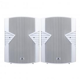 caixa de som passiva frahm ps8s branca