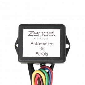 interface automatico farol automotivo zendel